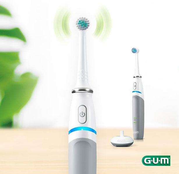 Delikatna szczoteczka elektryczna GUM® PowerCARE™